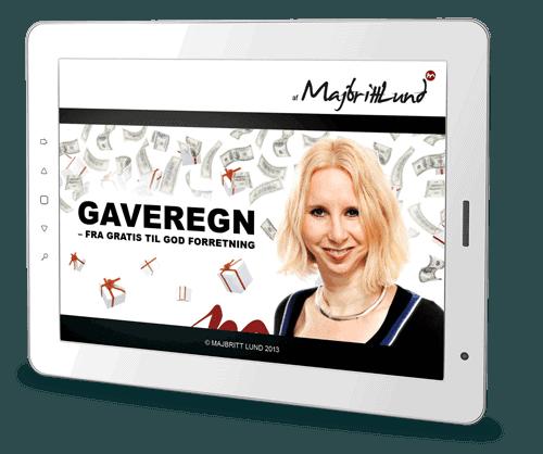 gratis e-bog og salg